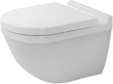 Picture of Starck 3 Toilet wall mounted