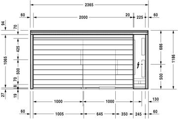 Picture of Inipi B Inipi B Sauna, freestanding