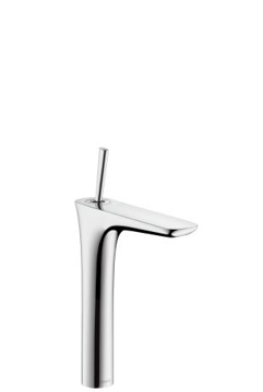 Picture of PuraVida Single lever basin mixer 240 with push-open waste set and 900 mm connection hoses for washbowls