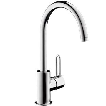 Slika od Axor Uno²  jednoručna slavina za umivaonik sa odvodnim setom sa šipkom za zatvaranje i okretnim prelivom 360°