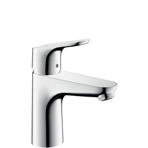 Picture of Focus Single lever basin mixer 100 with pop-up waste set