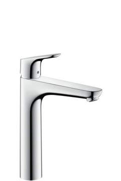 Picture of Focus Single lever basin mixer 190 with pop-up waste set