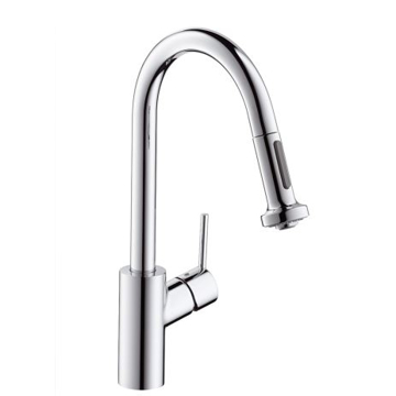 Picture of Talis S² Variarc Single lever kitchen mixer with pull-out spray