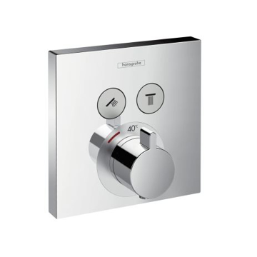 Picture of ShowerSelect Thermostatic mixer for concealed installation for 2 functions