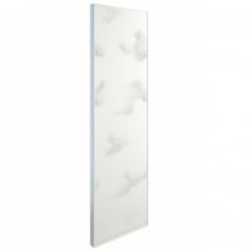 "Picture of Axor Urquiola Partition heater with ""Clouds"" pattern free-standing"