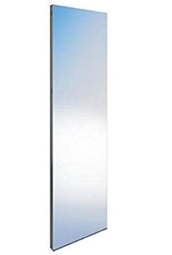 "Picture of Axor Urquiola Partition heater with mirror and ""Clouds"" pattern free-standing"