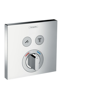 Picture of HG ShowerSelect mixer 2 outlets chrome