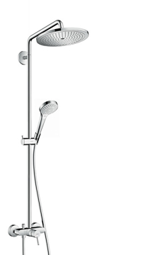 Picture of Croma Select 280 Air 1jet Showerpipe with single lever mixer