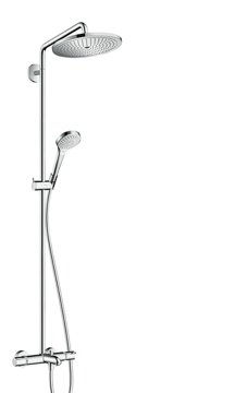 Picture of Croma Select 280 Air 1jet Showerpipe for bath tub