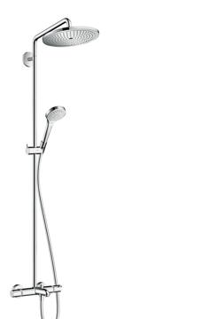 Slika od Croma Select 280 Air 1jet Showerpipe za kadu