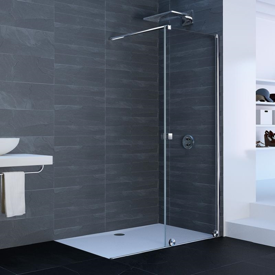 Picture of XTENSA SHOWER SCREEN 120CM RIGHT