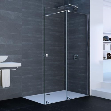 Picture of XTENSA SHOWER SCREEN 140CM RIGHT MIRASTAR