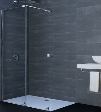 Picture of XTENSA SHOWER SCREEN 140CM LEFT MIRASTAR