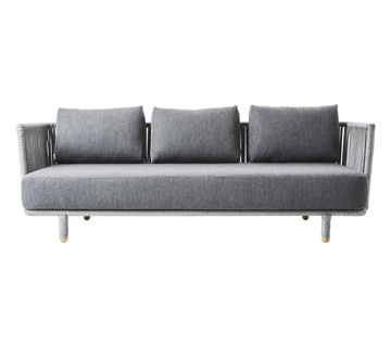 Slika od Moments 3-seater sofa, incl. Grey cushion set