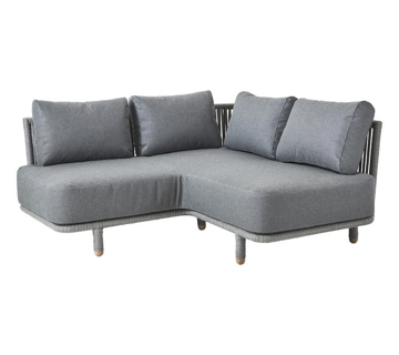 Slika od Moments corner module, incl. Grey cushion set