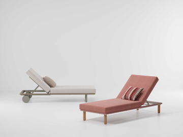 Picture of Sunlongers deckchair with legs