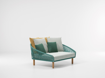 Picture of Sofa daybed wood rope