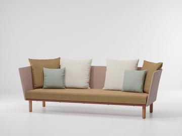 Picture of 3 seater sofa parallels teak leg