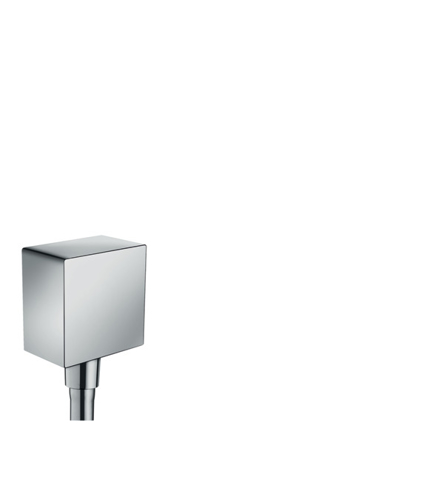 Picture of HG FixFit Square wall outlet DN15 RV BSO null