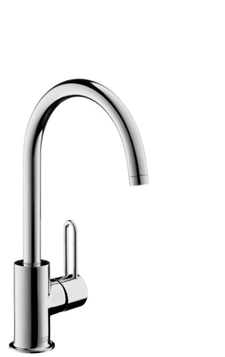Picture of AX basin mixer Uno 2 Highspout BSO null