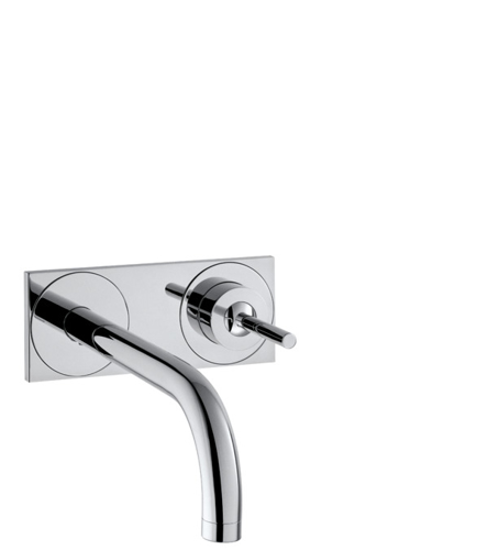 Picture of AX Uno mixer conc.spout 160mm+plate BSO null
