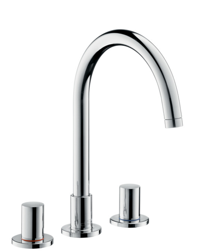 Picture of AX 3-h.basin mixer Uno 2 BSO null