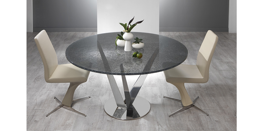 Picture of TRIDENT  ROUND DINING TABLE fi 140 cm