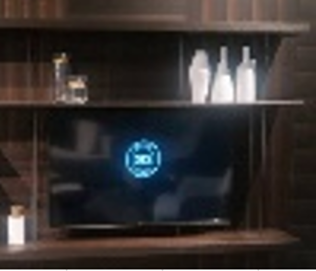 Picture of SHARPY SHELF DIMENZIJE 200x35,5x142,5 CM WL12 SMOKED OAK+BLACK