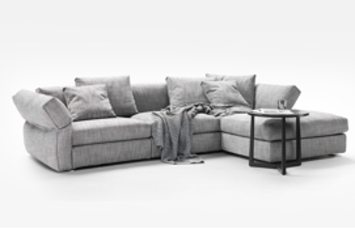 Picture of SLOPE CORNER SOFA WITH OTTOMAN 330X120+ 108 CM
