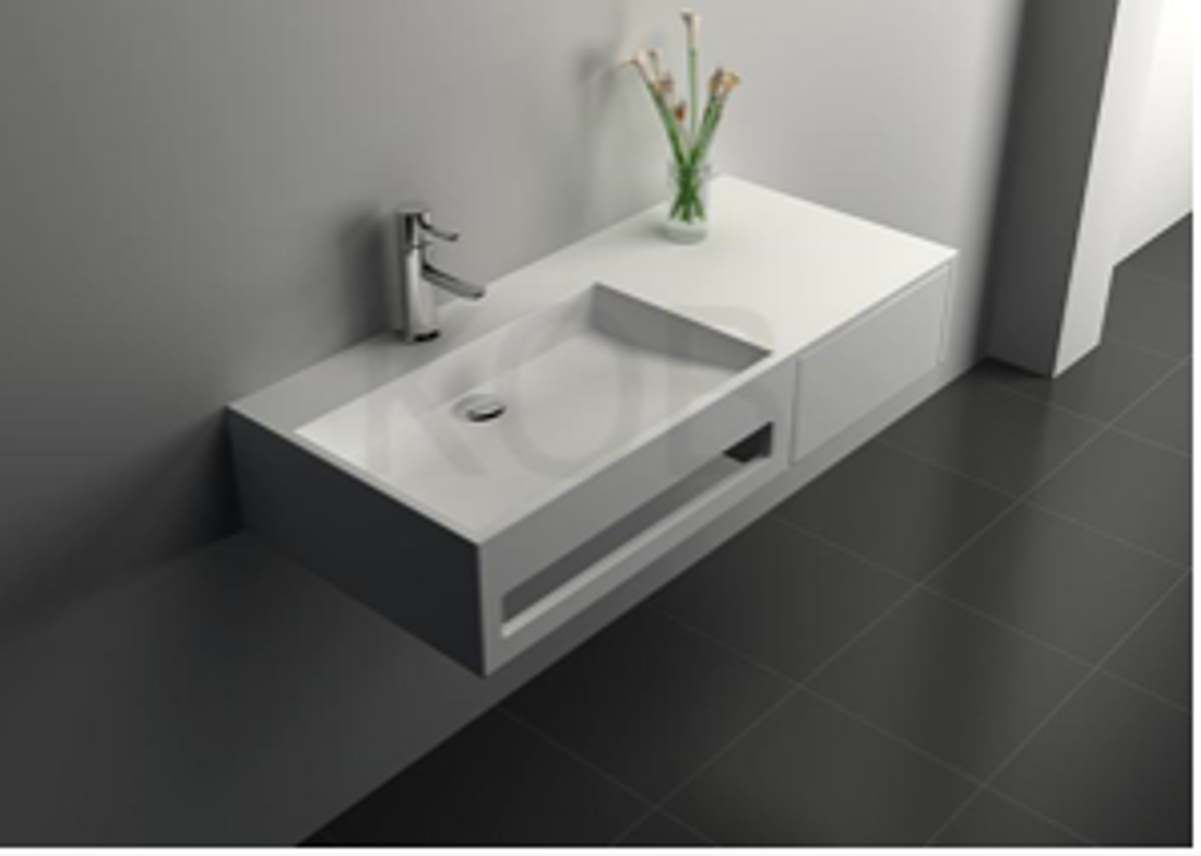 Picture of SOLID SURFACE SINK MAT 90X40X20 CM