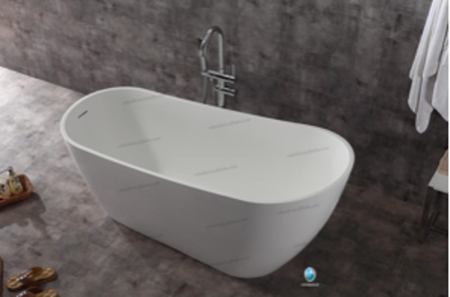 Picture of CORIAN BATHTUB GLOSSY WHITE 168X71X75 CM