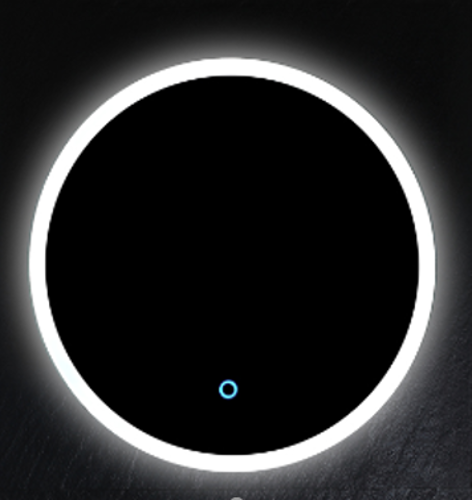Slika od OGLEDALO SA LED SVETLOM 60X60X3 CM