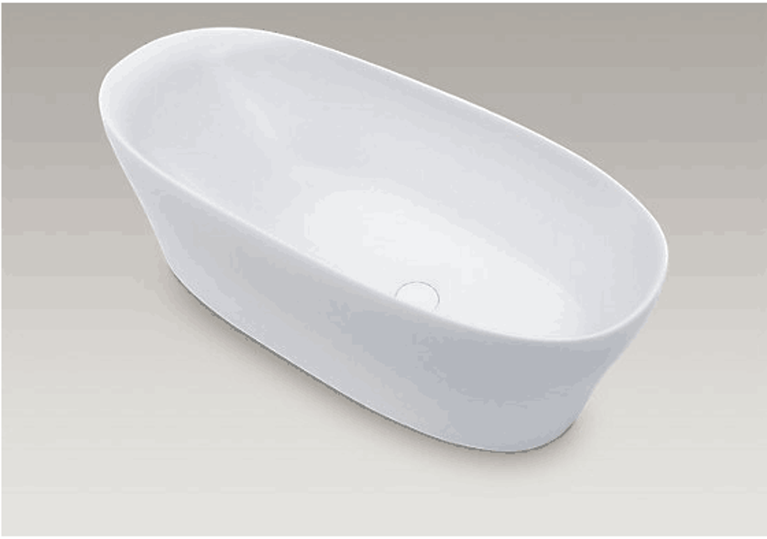 Picture of CORIAN BATHTUB 180X80X60 CM