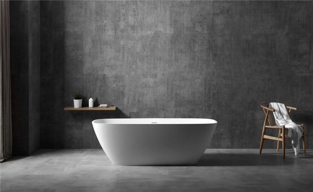 Picture of SOLID SURFACE BATHTUB MAT 170X72X56 CM