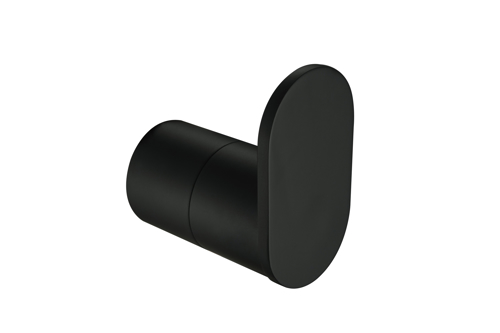 Picture of SINGLE ROBE HOOK MAT BLACK