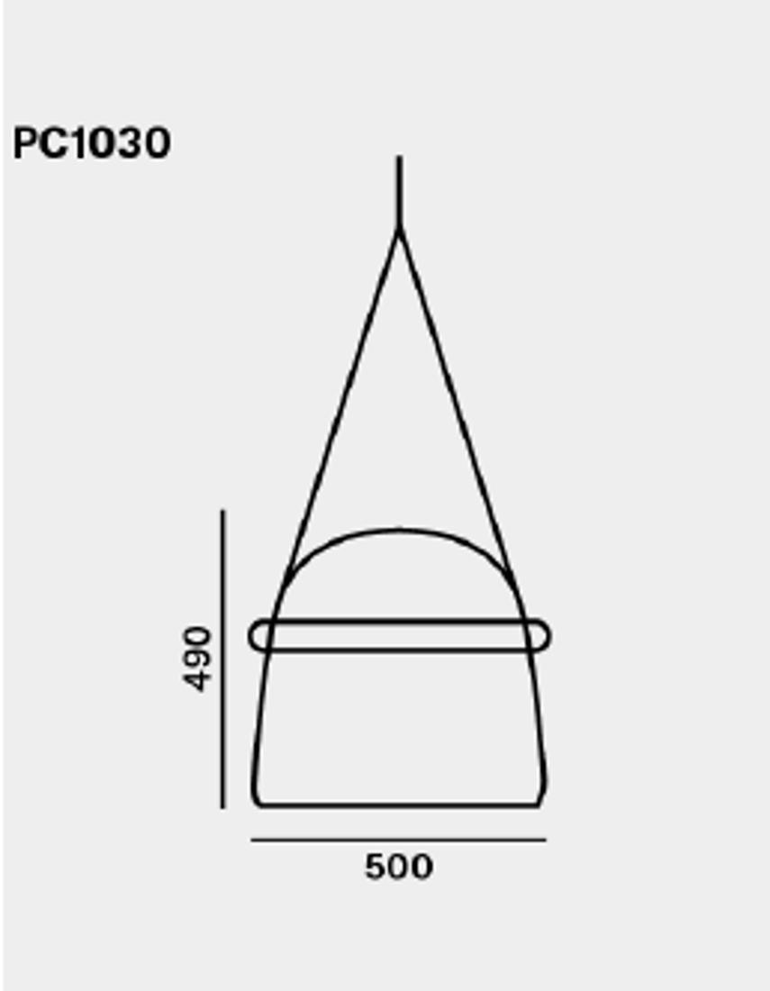 Picture of MONA XL PLAFONSKA LAMPA 50X49 cm