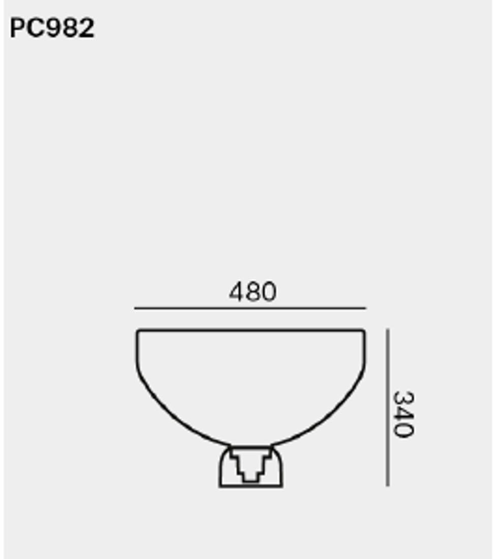 Picture of LIGHTLINE L LAMPA 48X34 CM