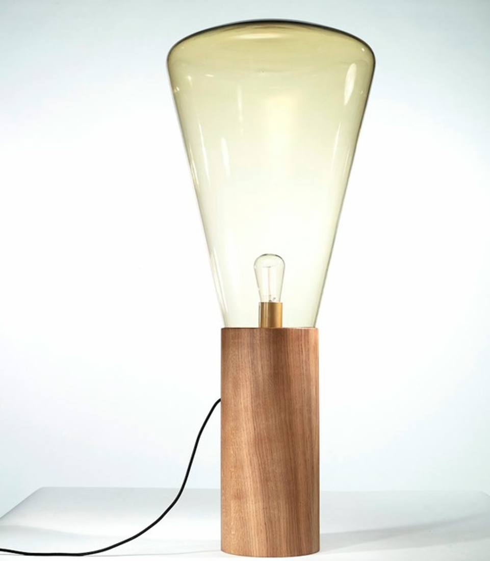 Picture of MUFFINS TABLE LAMP 43,5X107 cm WOOD 04