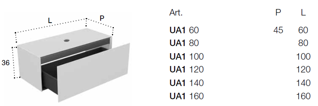 Picture of PURE ELEMENTS SET 160X45 cm