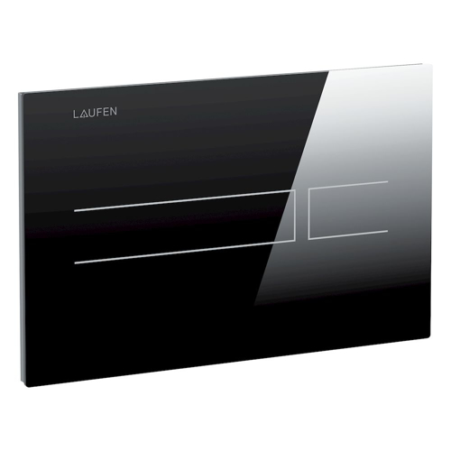 Picture of Electronic glass flush plate AW3, contactless, dual flush