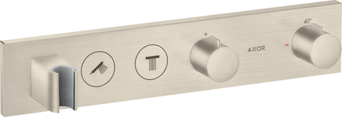 Picture of Thermostatic module Select 460/90 Brushed Nickel
