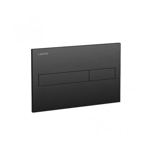 Picture of Laufen flush plate AW1, dual flush mat black