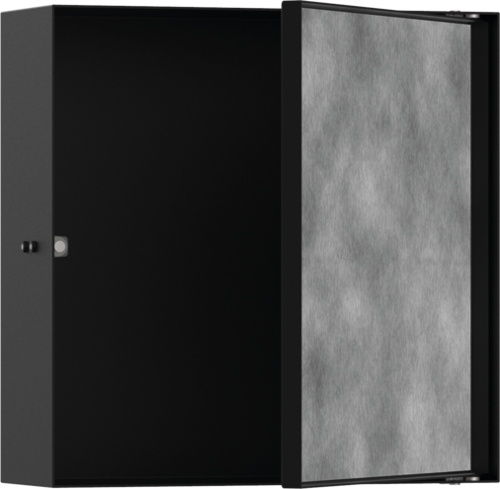 Picture of XtraStories Rock zidna niša sa vratima od pločica crna mat