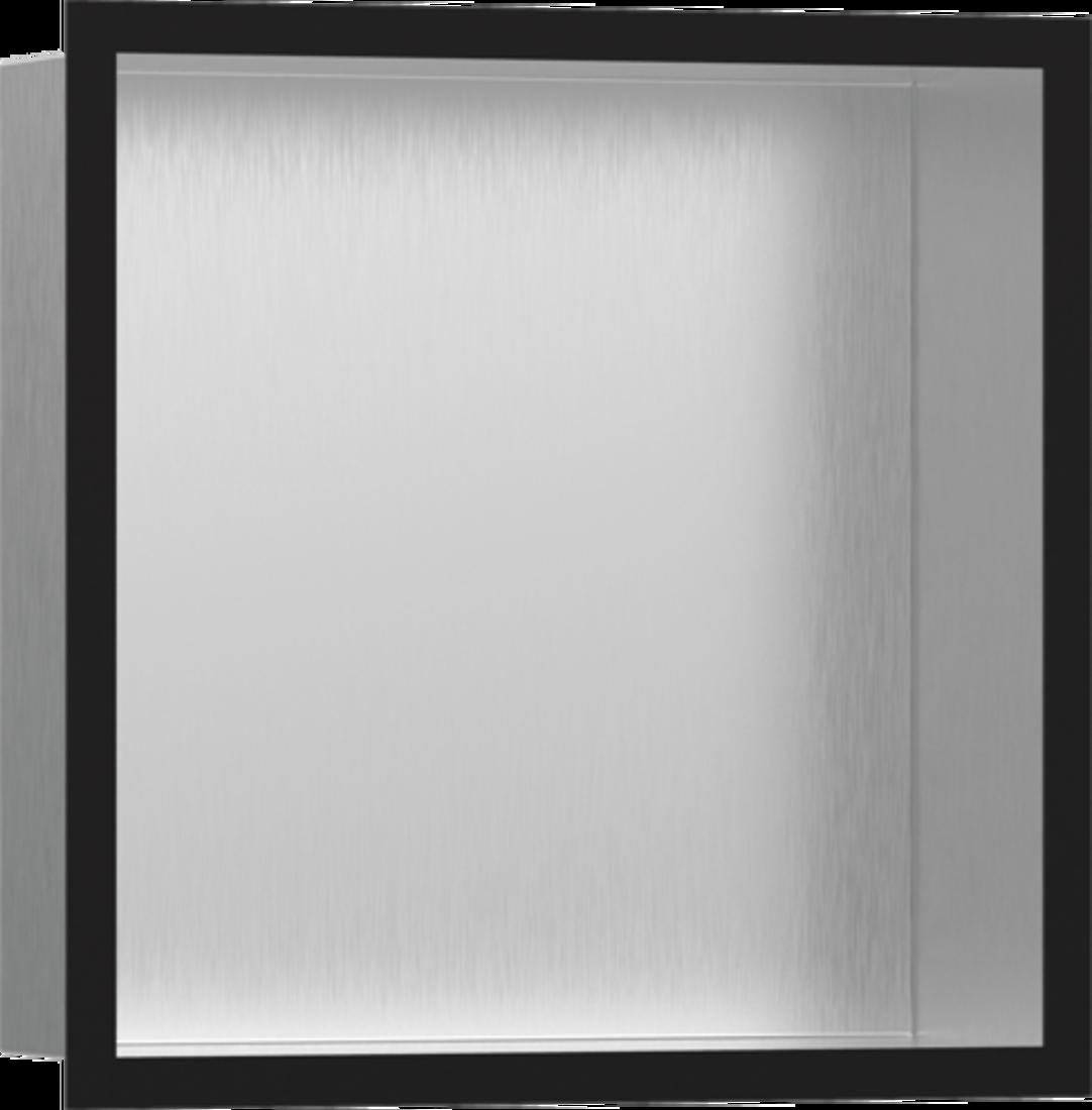 Picture of XtraStories Individual zidna niša od nerđajućeg čelika sa dizajniranim okvirom mat crna