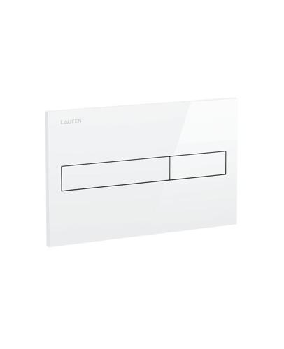 Picture of Laufen flush plate AW1, dual flush white