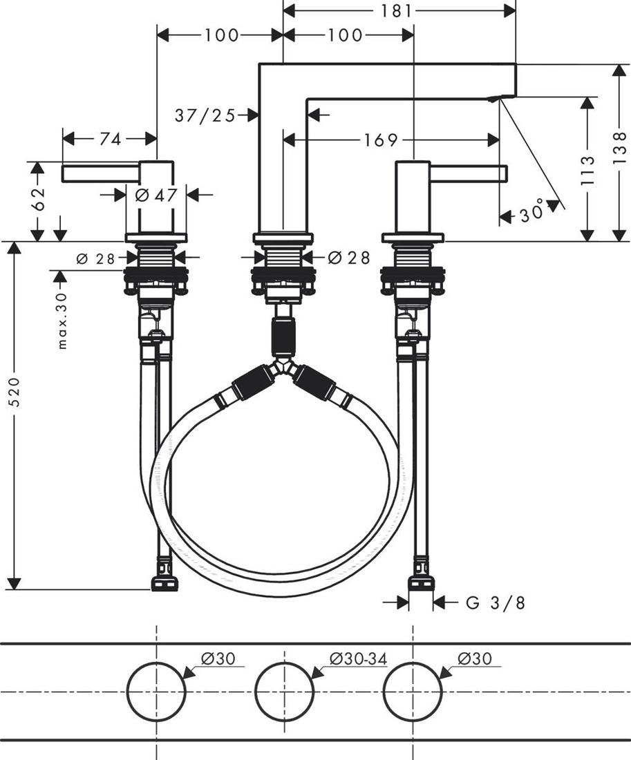 Picture of Finoris 110 baterija sa 3 otvora