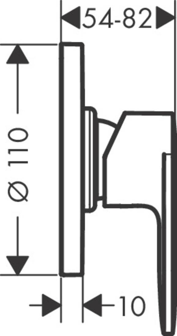 Picture of Vernis Blend mešač za tuširanje sa 1 funkcijom